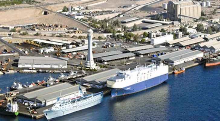 ارشيفية لميناء العقبة