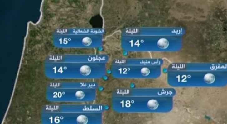 ارتفاع ملموس على الحرارة وأجواء حارة نسبيًا الجمعة