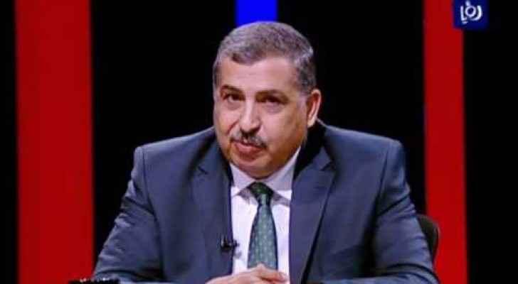 وزير العمل علي ظاهر الغزاوي