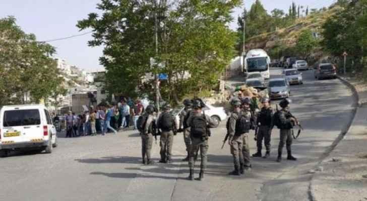 الاحتلال يقمع وقفة تضامنية مع الأسرى بسلوان