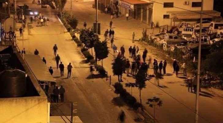مواجهات مع عناصر من شرطة الاحتلال