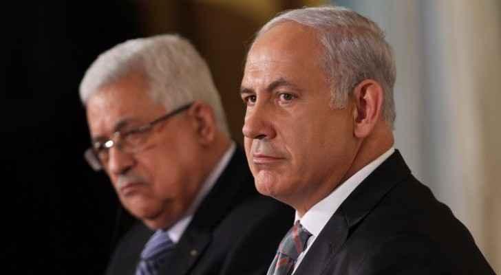 رئيس وزراء الاحتلال والرئيس الفلسطيني