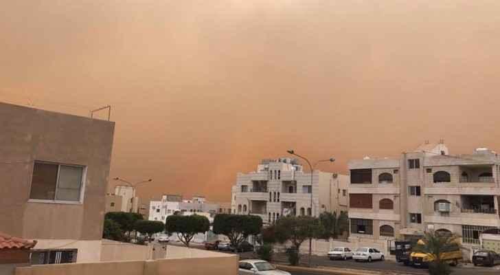 الصور للعاصفة