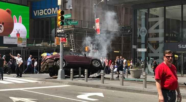 صورة من حادث نيويورك