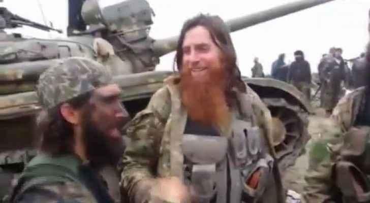 ارشيفية لمقاتلين اجانب مع داعش
