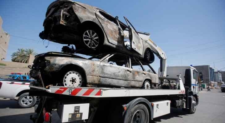 أرشيفية لسيارتين مفخختين في بغداد