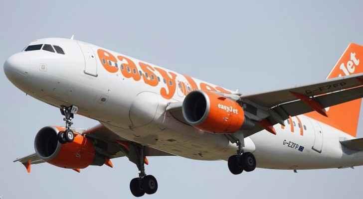 """طائرة تابعة لشركة """"إيزي جيت"""" البريطانية"""