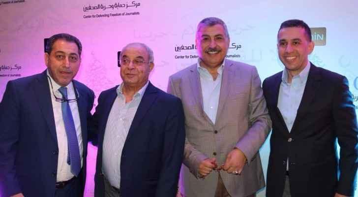 مركز حماية وحرية الصحفيين يقيم امسية رمضانية تكريما للإعلاميين