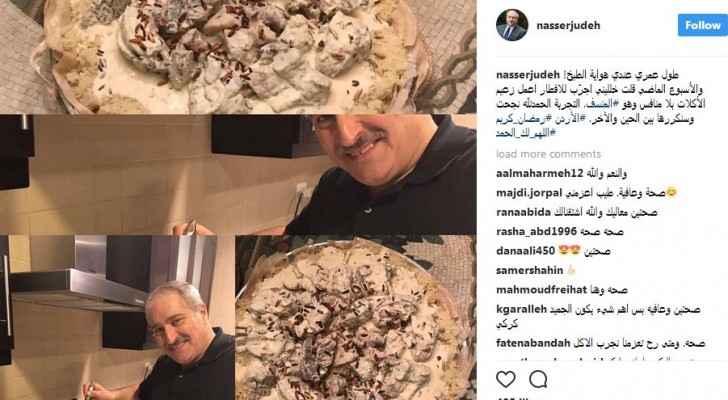 وزير الخارجية السابق ناصر جوده: طول عمري عندي هواية الطبخ!