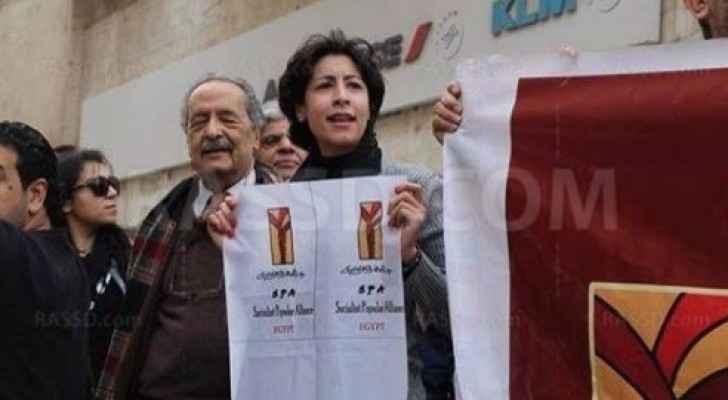 الناشطة اليسارية شيماء الصباغ