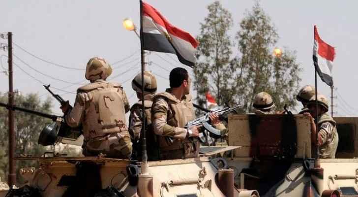 عناصر من الجيش المصري - ارشيفية