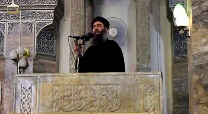 زعيم عصابة داعش الإرهابية أبو بكر البغدادي