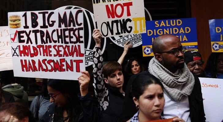 تظاهرة منددة بالتحرش الجنسي في نيويورك