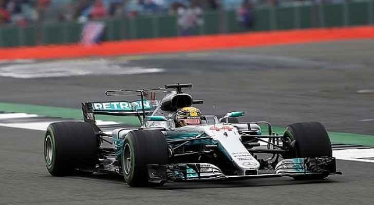 هاميلتون يفوز بسباق جائزة بريطانيا الكبرى