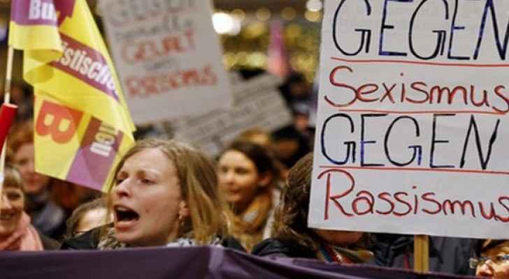 مظاهرات ضد التحرش في المانيا - ارشيف