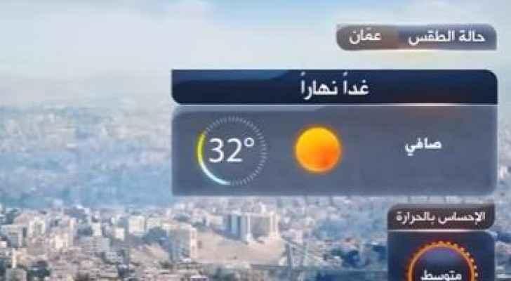 انخفاض قليل على درجات الحرارة السبت