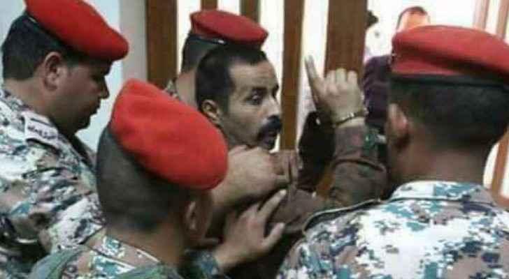 جانب من محاكمة الجندي معارك التوايهة