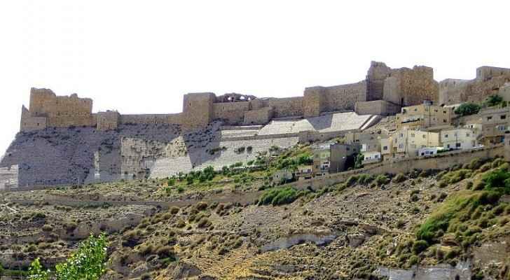 ارشيفية لقلعة الكرك