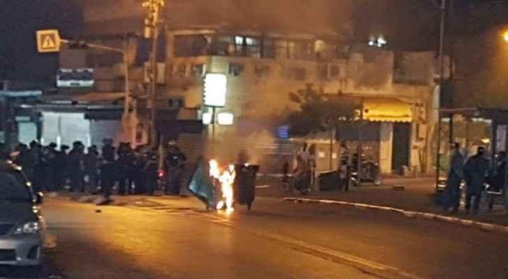مواجهات بين الشبان وشرطة الاحتلال في يافا