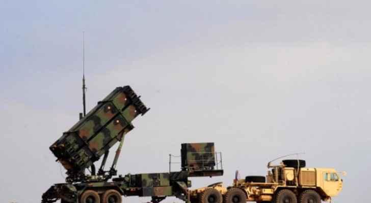 منصة لإطلاق صواريخ من طراز باتريوت