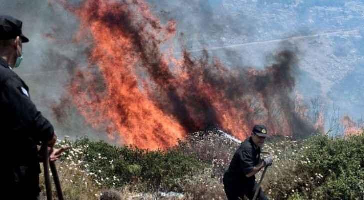 جزء من حرائق اثينا