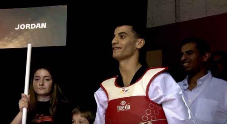 """""""أبو غوش"""" يظفر بالميدالية البرونزية في أولى جولات الجائزة الكبرى"""