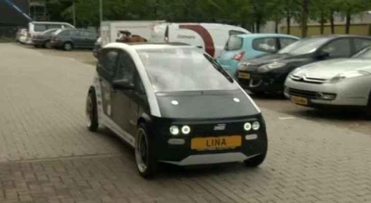 طلاب هولنديون يصنعون سيارة قابلة للتحلل