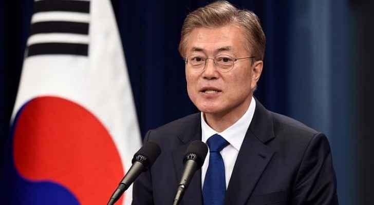 الرئيس الكوري الجنوبي مون جاي ان