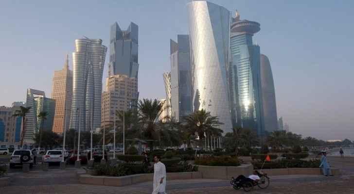 الصورة أرشيفية للعاصمة القطرية الدوحة