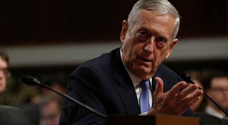 وزير الدفاع الامريكي جيم ماتيس،