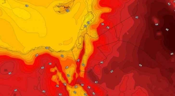 طقس صيفي اعتيادي إلى حار نسبي خلال الأيام القادمة