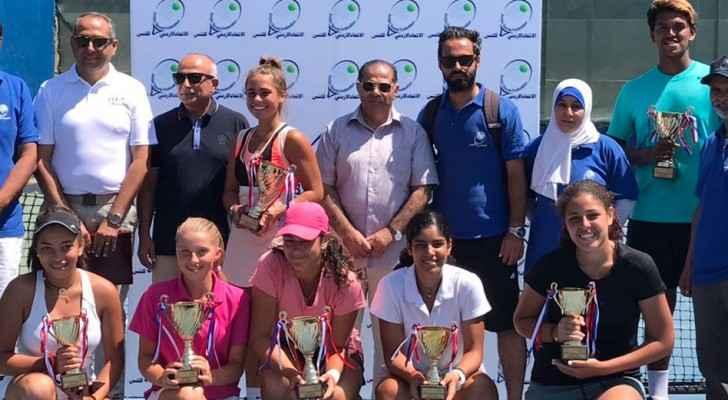 ختام النسخة الثانية من بطولة عمان الدولية للتنس