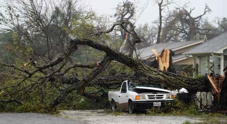 خسائر عالية بسبب اعصار هارفي