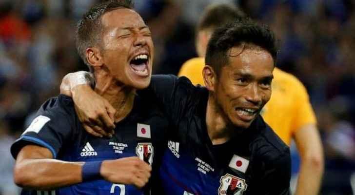 اليابان تتأهل لكأس العالم 2018