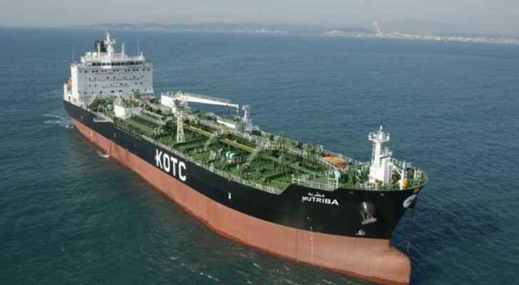 إحدى ناقلات النفط الكويتية