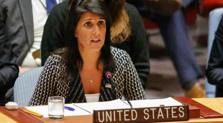 نيكي هيلي مندومبة الولايات المتحدة لدى الأمم المتحدة