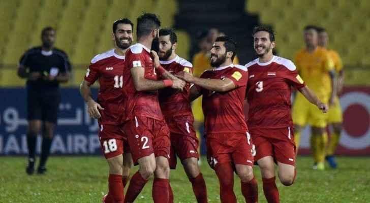 سوريا تبلغ ملحق مونديال تصفيات كأس العالم 2018