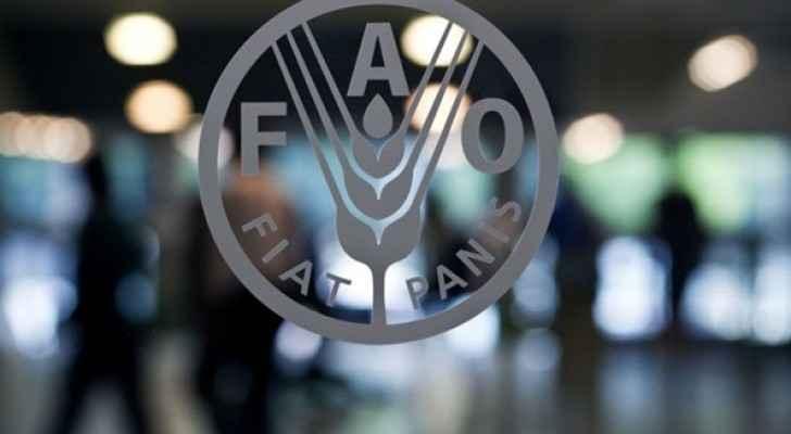 """شعار منظمة الأغذية والزراعة """"فاو"""""""