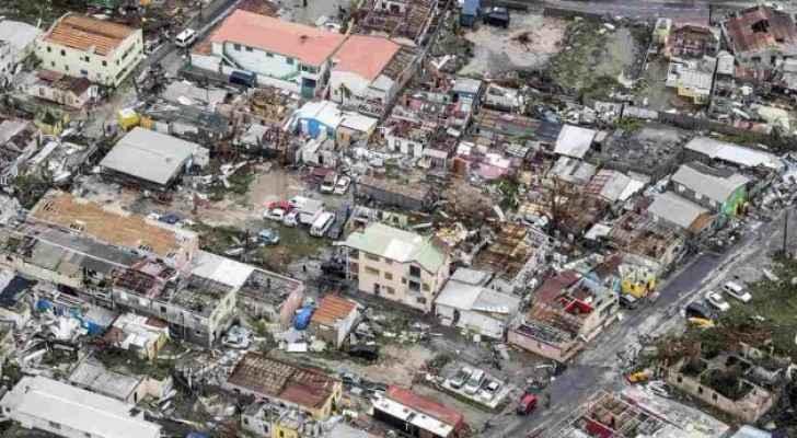 إعصار إرما تسبب بتدمير 95% من الجزر في منطقة الكاريبي