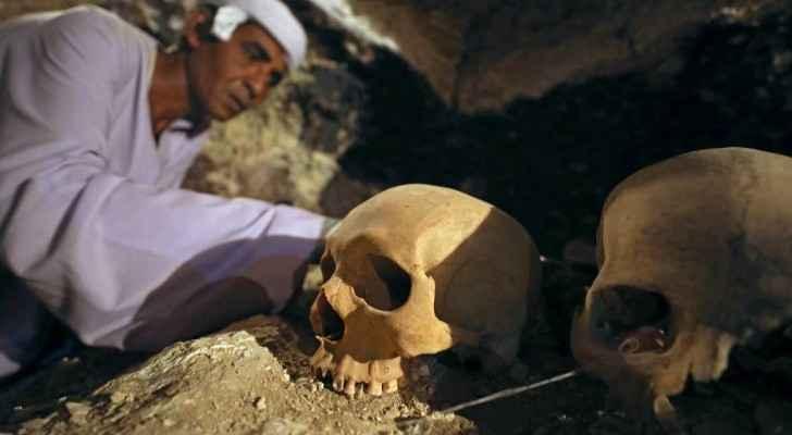 اكتشاف مقبرة صانع مجوهرات فرعوني