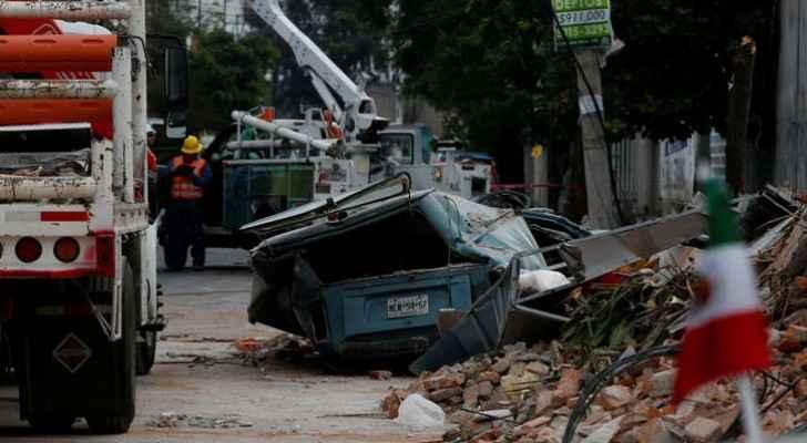 انتهاء البحث عن ناجين من الزلزال تزامنا مع الاعصار كاتيا