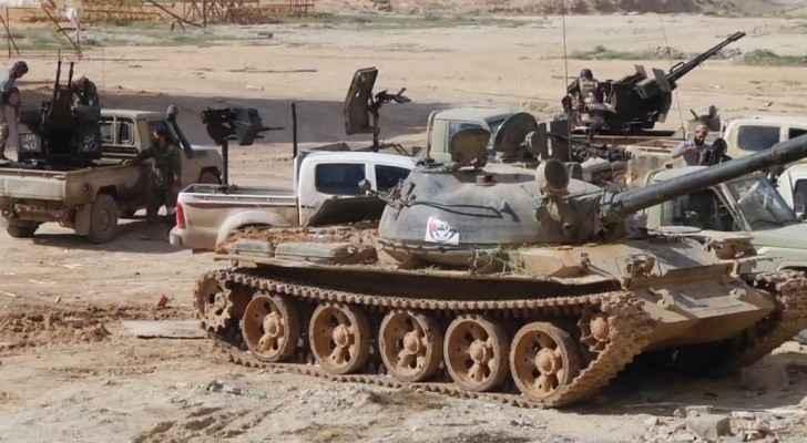 قوات تابعة للجيش الوطني الليبي