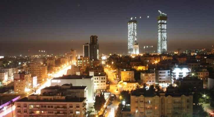 منظر عام للعاصمة عمان