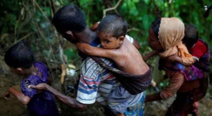 لاجئو الروهينجا الذين فروا من ميانمار