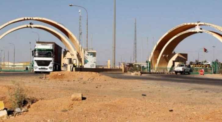 عبور المنتجات الزراعية الاردنية الى العراق بداية الاسبوع القادم