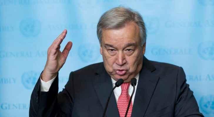 الامين العام للامم المتحدة انطونيو غوتيريس