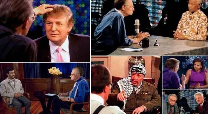 مع مانديلا وترمب وميشيل أوباما وبيل كلينتون عرفات والقذافي وأحمدي نجاد