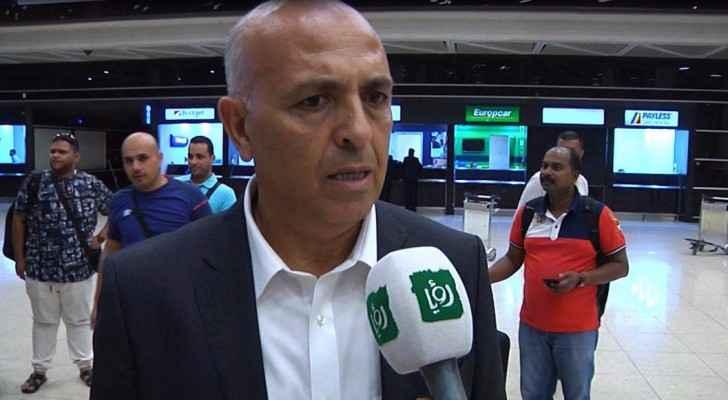 المدير الفني للاتحاد الاردني لكرة القدم التونسي بلحسن مالوش - أرشيفية