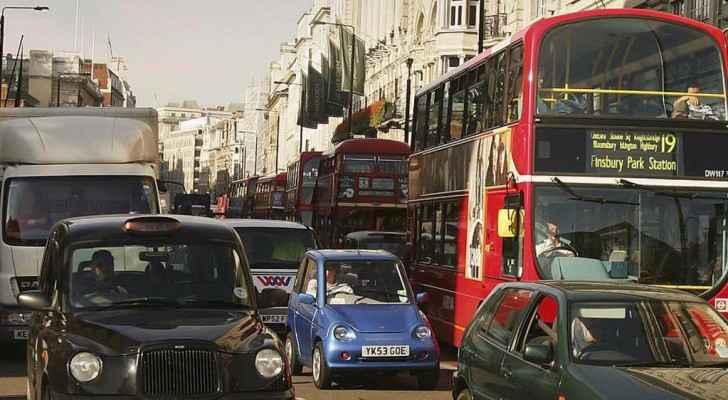 إطارات السيارات تنتج جسيمات سامة صغيرة