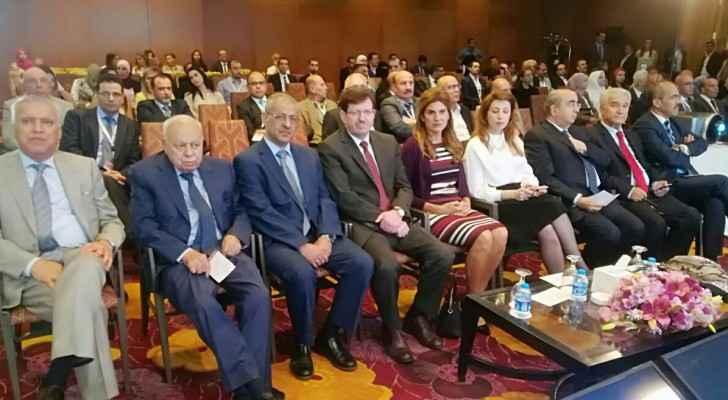 الصورة من فعاليات المؤتمر الدولي الأردني الثالث للأورام النسائية